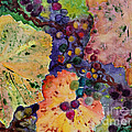 Grapes And Leaves by Karen Fleschler