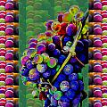 Grapes Fruit Pattern Health Background Designs  And Color Tones N Color Shades Available For Downloa by Navin Joshi