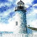 Great Lakes Light II by Steven Schultz