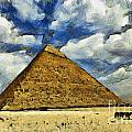 Great Pyramid Of Egypt by Sophie McAulay