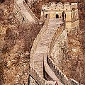 Great Wall Of China Mutianyu by Colin and Linda McKie