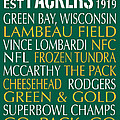 Green Bay Packers by Jaime Friedman