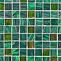 Green Tiles by Tom Gowanlock