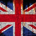 Grunge Union Flag by Steve Ball