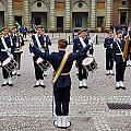 Guards Changing Shifts. Kungliga Slottet.gamla Stan. Stockholm 2 by Jouko Lehto