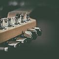 Guitar Head At A Glance by Karol Livote