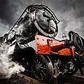 Gwr Steam Train by Ken Brannen