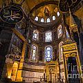 Hagia Sophia Church Istanbul Turkey by Yordan Rusev