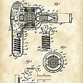 Hair Dryer Patent 1929 - Vintage by Stephen Younts