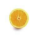 Half An Orange by Science Photo Library