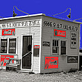 Hamburger Stand Coca-cola Signs Russell Lee Photo Farm Security Administration Dumas Texas 1939-2014 by David Lee Guss