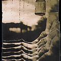 Hanging Bottle Rain Collage Old Tucson Arizona 1967-2012  by David Lee Guss