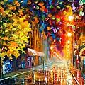 Happy Street by Leonid Afremov