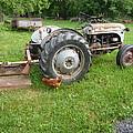 Hard Days Work Farm Tractor by Diane Palmer