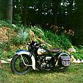 Harley Davidson  1935 by Allan Sprecher