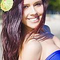 Hawaiian Girl In Hawaii by Jorgo Photography - Wall Art Gallery