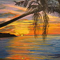 Hawaiian Sunset 11 by Jenny Lee