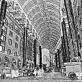 Hays Galleria London Sketch by David Pyatt