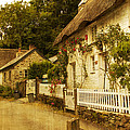 Helford Cottages by Brian Roscorla