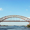 Hell Gate Bridge by Jim Poulos
