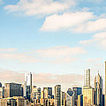 High Resolution Large Photo Of Chicago Skyline by Paul Velgos