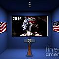Hillary 2016 by Marvin Blaine