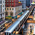 Historic Chicago El Train by Christopher Arndt