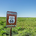 Historic Old Route 66 Passed by Jerry Ginsberg