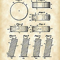 Hockey Puck Patent 1940 - Vintage by Stephen Younts