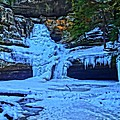 Hocking Hills State Park In Winter by Dan Sproul