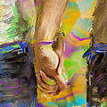 Holding Hands by Donald Pavlica