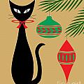 Holiday Cat by Donna Mibus