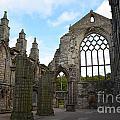Holyrood Abbey Ruins by DejaVu Designs