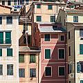 homes in Camogli by Antonio Scarpi