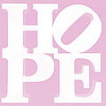Hope Inverted Pink by Rob Hans