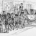 Horse-drawn Coach by Granger