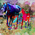 Horses Of Different Colors by Ericamaxine Price