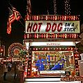 Hot Dog On A Stick by Peter Tellone