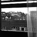 Hotel Window Butte Montana 1979 by David Lee Guss