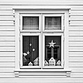 Houses And Windows by Dave Bowman