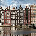 Houses In Amsterdam by Artur Bogacki