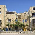 Houses In Jaffa Tel Aviv Israel by Jacek Malipan