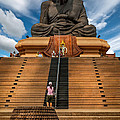 Huay Mongkol Temple by Adrian Evans