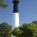 Hunting Island Lighthouse Sc by Bob Pardue