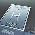 Hydrogen Chemical Element by Science Picture Co