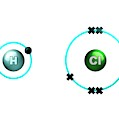 Hydrogen Chloride Molecule Bond Formation by Animate4.com/science Photo Libary