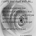 I Carry Your Heart With Me... by Steve Harrington