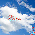 1 I Love You Heart Cloud by Andee Design