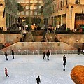 Ice Skating In New York City by Dan Sproul