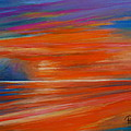 Impression Sunset 02 by Pusita Gibbs